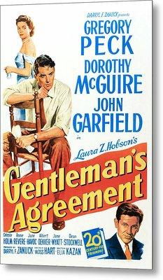 Gentlemans Agreement, Dorothy Mcguire Metal Print by Everett