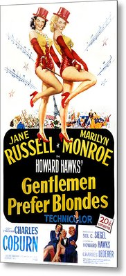 Gentlemen Prefer Blondes, Jane Russell Metal Print by Everett