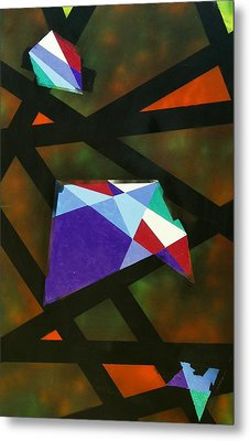 Geo Metal Print by Lola Connelly