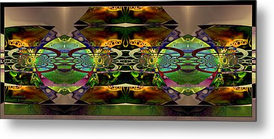 Metal Print featuring the photograph Geometrica by Robert Kernodle