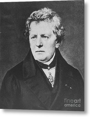 Georg Ohm, German Physicist Metal Print by Science Source