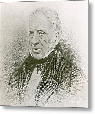 George Cayley, English Aviation Engineer Metal Print by Science Source
