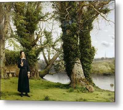 George Herbert At Bemerton Metal Print