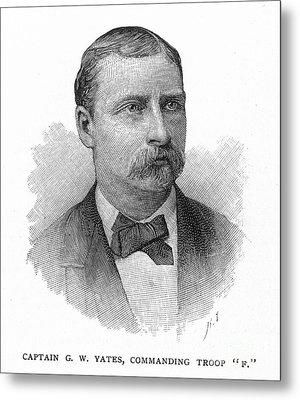 George W. Yates (d.1876) Metal Print by Granger