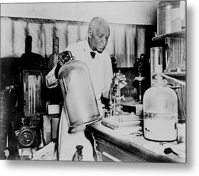 George Washington Carver 1864-1943 An Metal Print by Everett