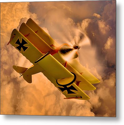 German Airplane Metal Print by Gennadiy Golovskoy
