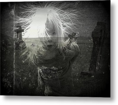 Ghost Child Metal Print by Shirley Sirois