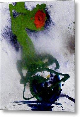 Ghost Flower Metal Print