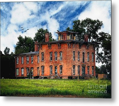 Ghost Of The Underground - Prospect Place Metal Print