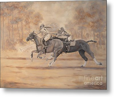 Ghost Riders Metal Print
