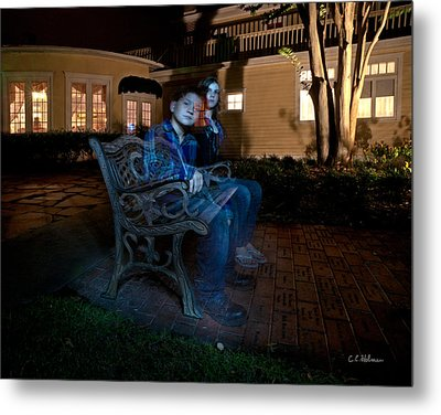 Ghostly Cousins Metal Print by Christopher Holmes