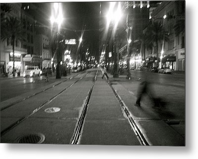 Ghosts Of New Orleans Metal Print