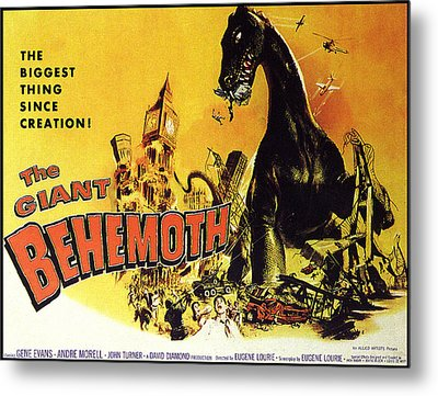 Giant Behemoth, The, 1959 Metal Print by Everett
