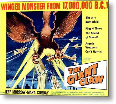 Giant Claw, The, 1957 Metal Print by Everett