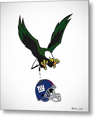 Giants Suck Metal Print by Bill Cannon