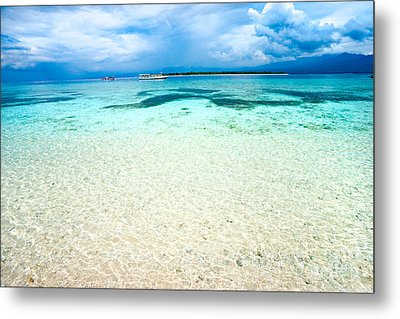 Metal Print featuring the photograph Gili Meno - Indonesia. by Luciano Mortula