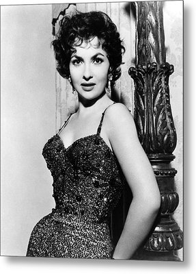 Gina Lollobrigida, Ca. 1956 Metal Print by Everett