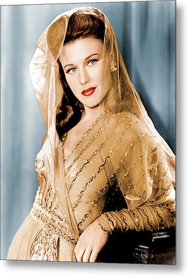 Ginger Rogers In Paramount Studio Metal Print by Everett