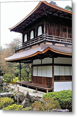 Ginkakuji Temple Metal Print