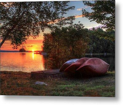 Give Me A Canoe Metal Print by Lori Deiter