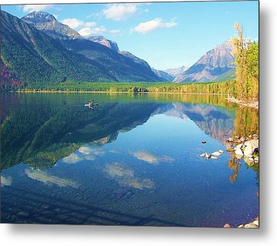 Glacier Park Magic Metal Print