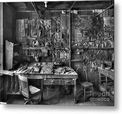 Gladding Mcbean Engineer's Room Metal Print by Ron Schwager