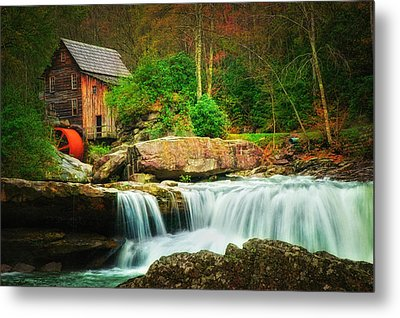 Glade Creek Mill 2 Metal Print by Mary Timman