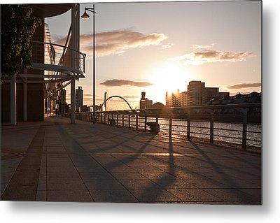 Glasgow Promenade Metal Print by Tom Gowanlock