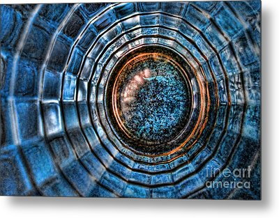 Glass Series 3 - The Time Tunnel Metal Print