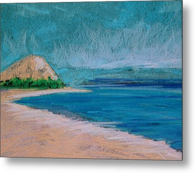 Glen Arbor Beach Metal Print by Lisa Dionne