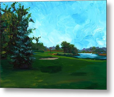 Glen Eagle Golf Course Metal Print