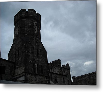 Gloom Turret Metal Print by Christophe Ennis