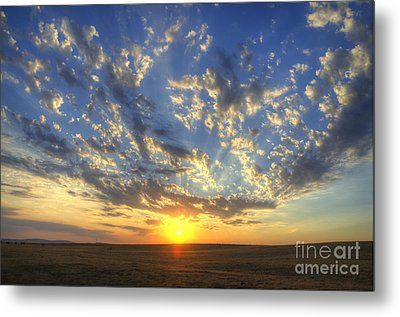 Glorious Sunrise Metal Print by Jim And Emily Bush