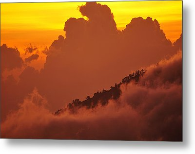 Metal Print featuring the photograph Glorious Sunrise by Sebastien Coursol