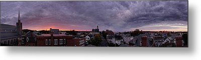 Gloucester Sunrise Panorama Metal Print by Matthew Green