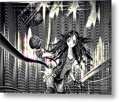 Go Dance Metal Print by Mo T
