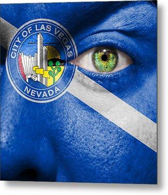 Go Las Vegas Metal Print by Semmick Photo