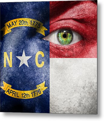 Go North Carolina Metal Print by Semmick Photo