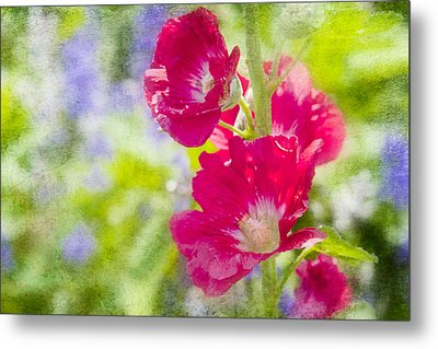 Go Paint In The Garden Metal Print by Toni Hopper
