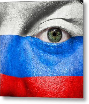 Go Russia Metal Print by Semmick Photo