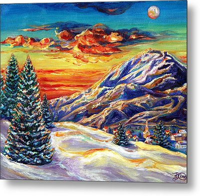 Go Tell It On The Mountain Metal Print by Suzanne King