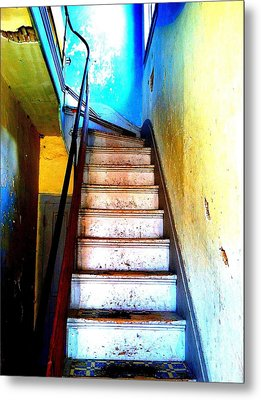 Go Up Metal Print by Christine Ricker Brandt