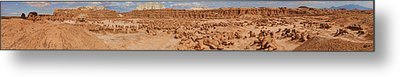 Goblin Valley With Potential Victims Metal Print by Gregory Scott