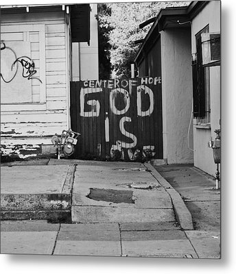 Metal Print featuring the photograph God Is Love by Lennie Green