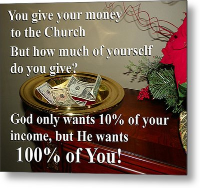 God Wants You Metal Print by Chad and Stacey Hall