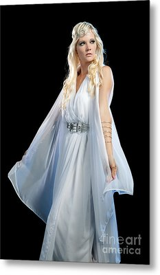 Goddess Metal Print by Cindy Singleton