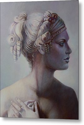 Goddess Detail Metal Print by Geraldine Arata