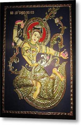 Goddess Tara Metal Print by Asha Nayak