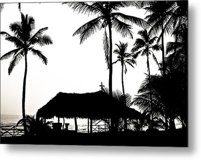 God's Beach Metal Print