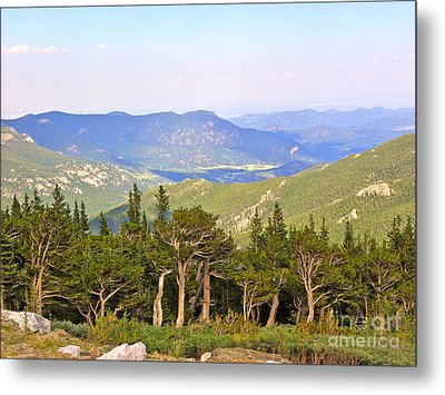 Metal Print featuring the photograph God's Country by Eve Spring